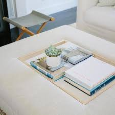 ottoman tray coffee table design ideas