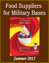 food suppliers for military bases by federal buyers guide inc
