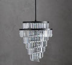 The Crystal Chandelier Crystal Beach Chandeliers Pottery Barn