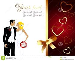 wedding greetings card beautiful wedding greeting card stock photo image 10170390