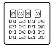 toyota yaris mk1 1999 u2013 2005 u2013 fuse box diagram auto genius
