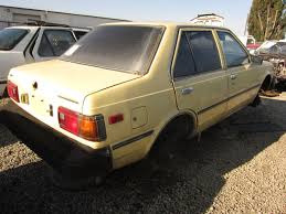 nissan datsun old model junkyard find 1983 nissan sentra sedan the truth about cars