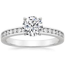 channel set engagement rings channel set engagement rings brilliant earth