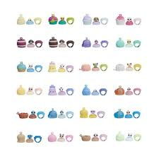 Blind Bag Littlest Pet Shop Littlest Pet Shop Blind Bag Pets Rings Series 2 6 Pack Hasbro