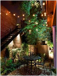 Outdoor Hanging Patio Lights by Backyards Terrific Hanging Lights In Backyard Hanging Lights In