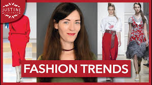 fashion trends fall winter 2017 2018 justine leconte youtube