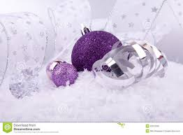 purple ornaments decoration purple silver