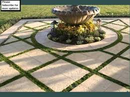 grass and pavers design collection landscape pavers grass youtube