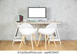 bureau contemporain vide moniteur ordinateur bureau contemporain meubles photos