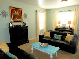 Couch Ideas by Simple Black Leather Sofa Decorating Ideas Color Goes With