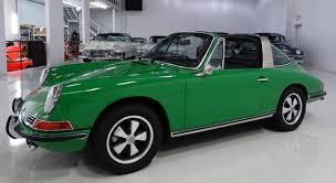 1968 porsche 911 targa for sale signal green 1968 paint cross reference