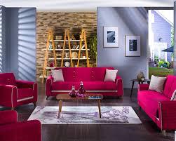 velvet sofa set baffling fabio plato fuschia living room sofa set living room