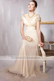 brautkleider gã nstig berlin chagne the shoulder beaded formal dress evening