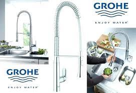 grohe robinet cuisine avec douchette grohe robinetterie cuisine mitigeur cuisine grohe grohe 32950000