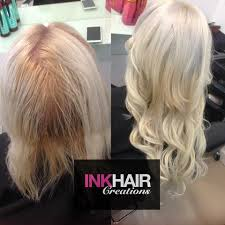 russian hair extensions half of russian hair extensions ink hair creations