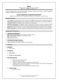 Resume Setup Examples Best Resumes Format For Freshers It Fresher Resume Sample Format