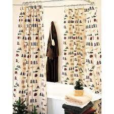Shower Curtain And Valance Woolrich Woodlands Shower Curtain U0026 Accessories Cabin Place