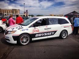 simon pagenaud s honda odyssey mini at 2013 pikes peak hill