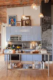Kitchen Islands For Small Spaces Best 25 Loft Kitchen Ideas On Pinterest Industrial Style