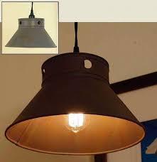 primitive kitchen lighting side kitchen pendant light l in rusty gray rustic vintage