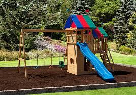 happy haven backyard kids play set play mor swingsets in ohio