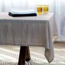 108 tablecloth on 60 table 100 pure linen everyday table linens vivaterra