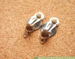 how to make clip on earrings convert pierced earrings to clip on earrings piercing and jewelery