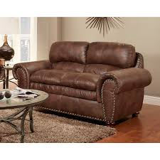 Leather Reclining Sofas And Loveseats by Simmons San Diego Coffee Leather Loveseat Hayneedle
