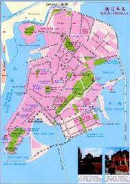 Zhuhai China Map by Road Map Of Macau Macau Road Map Vidiani Com Maps Of All
