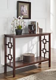 furniture mirrored console table hemnes sofa table table for