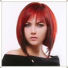 Rote Bob Frisuren by 29 Marvelous Longer Graduated Bob With Fringe Wodip Com