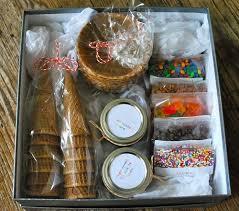 diy gift basket ideas ice cream sundae hamper click pic for 25