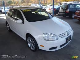 rabbit volkswagen 2007 2007 volkswagen rabbit 4 door in candy white 247948