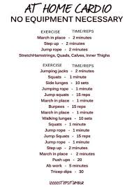 at home workout plans for women best workouts tips full body cardio workout at home for beginners
