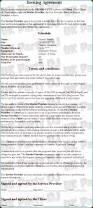 sample wedding contract basic wedding photography contracts