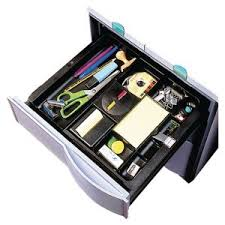 3m Desk Drawer Organizer 3m C71 Drawer Organiser Black Lyreco Italy