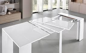 tavoli console prisma tavolo allungabile cj3q misure 100x50x75 cm