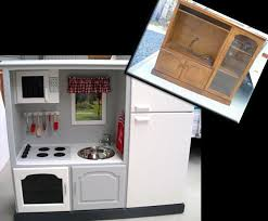 pretend kitchen furniture transforming old furniture convert old tv cabinets into state of