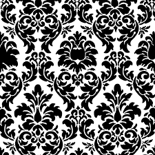 Black Damask Wallpaper Home Decor Damask Background Powerpoint Backgrounds For Free Powerpoint