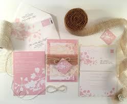 cherry blossom wedding invitation spring wedding invitations