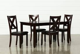 living spaces dining table set 5 piece dining table w side chairs living spaces room sets added to