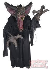 Super Deluxe Halloween Costumes Creature Reacher Gruesome Bat Deluxe Scary Costume Mascot