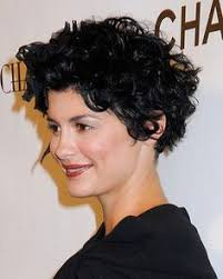 how can i get my hair ut like tina feys how can i style my short hair more curly like audrey tautou hair
