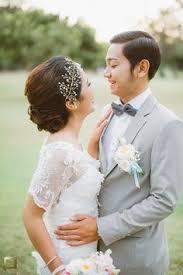 wedding dress di bali pernikahan anindya dan aiken di gedong putih bandung outdoor