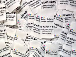 design label woven 5000 customised woven fabric labels from 385