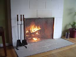 modern concept mid century modern fireplace screen with wrought