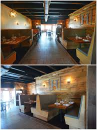 Rustic Interiors by Virginia Beach Restaurant Design Hearth Rustic Interior Wood