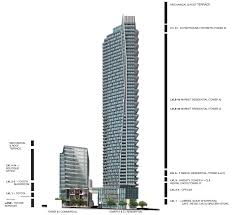 The Metropolitan Condo Floor Plan by Burrard Place Vancouver Condos