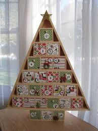 wooden advent calendar with wooden drawers flickr