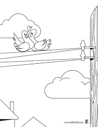 birds in love coloring pages hellokids com